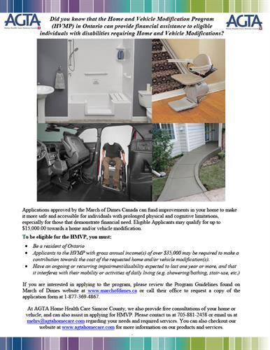AGTA Home Health Care Home Modification