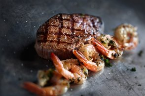 Grilled Shrimp & Sirloin