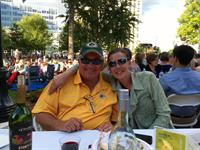 Rose & Jeff Schroeter enjoying Concerts on the Square