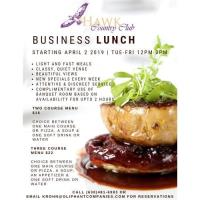 Business Lunches & Meetings Venue