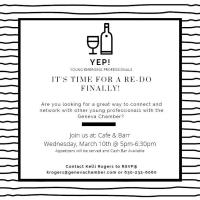 YEP - Young Emerging Professionals Social Event - Cafe & Barr