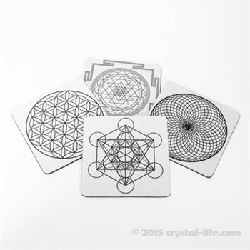 Sacred Geometry Coasters