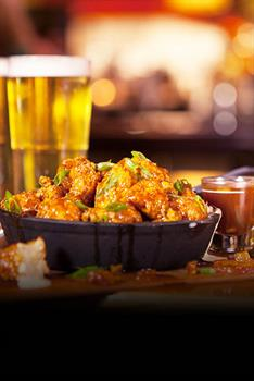 Bulleit Bourbon Bonless Wings