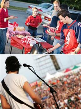 Sporting Events & Music Festivals