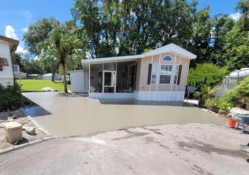 Driveway & Side Yard Extension - Plant City, FL