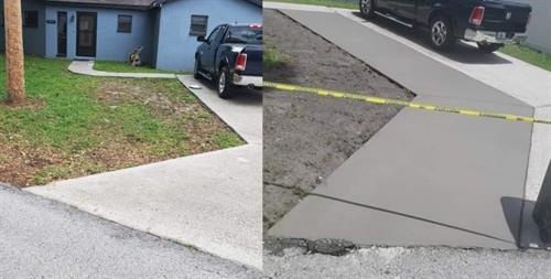 Driveway Extension - Tampa, FL
