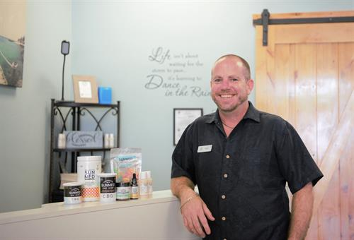 Store Owner Tim Bosko