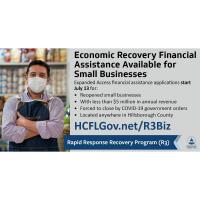 Hillsborough County's R3 Program for Small Businesses Now Open Countywide