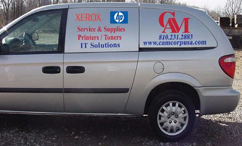 Our Service Van
