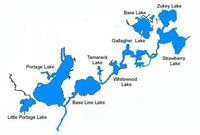 Our beautiful chain of lakes.  Come see our Chain of Lakes clothing line.