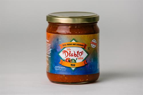 Zesty Onion and Artichoke Salsa (mild)