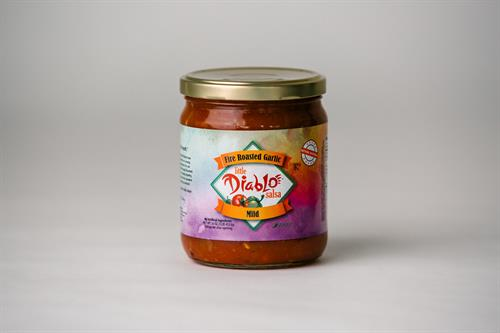 Fire Roasted Garlic Salsa (mild)