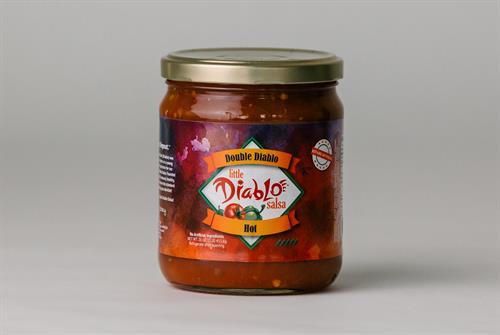 The Double Diablo Salsa (hot)