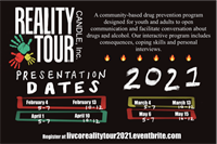 FREE Reality Tour Events - Interactive Drug Prevention Programming for Parents and Children