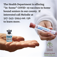Vaccines for Homebound Seniors
