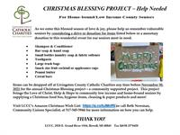 Christmas Blessing Project - We Need Your Help!