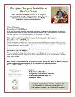 FREE Caregiver Support Activities - Dementia Specific