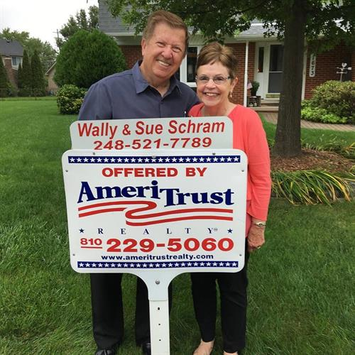 Wally and Sue Schram, Broker/Owners of AmeriTrust Realty