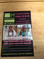 4/29 & 4/30/2017 Mobile Pack Livingston Cares
