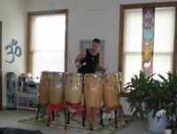 Live Drumming - a special monthly event during our 90 minute Vinyasa class!