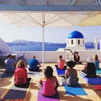 2015 summer Yoga Retreat in Santorini, Greece!