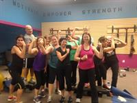 "Our Vibe Tribe sporting their ""guns"""