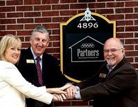 Founding Members Marianne McCreary, John MacLeod and Gerald Wingerter