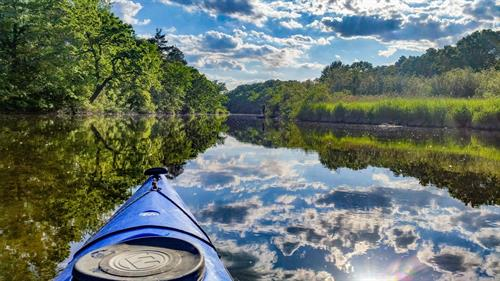 Kayak on the Huron River