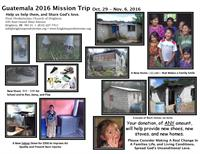 Mission needs in Guatemala