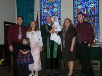 Baptisms at First Presbyterian Church of Brighton