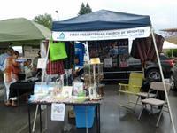 Brighton Farmers Market Booth.