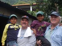 Fun with Guatemala kids.