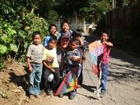 Fun with Guatemala kids