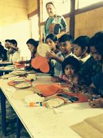 Working with Guatemala kids