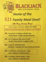 $21 Family Meal Deals