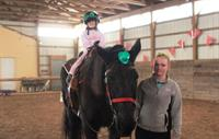 Riding starts 3years old~ H is for Horse class