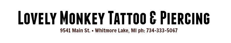 Lovely Monkey Tattoo