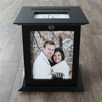 Black Wedding Card Box