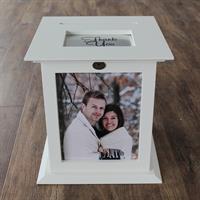 Ivory Wedding Card Box