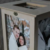 Un Finished Wedding Card Box