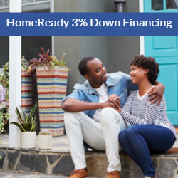 Conventional financing for 3% down!