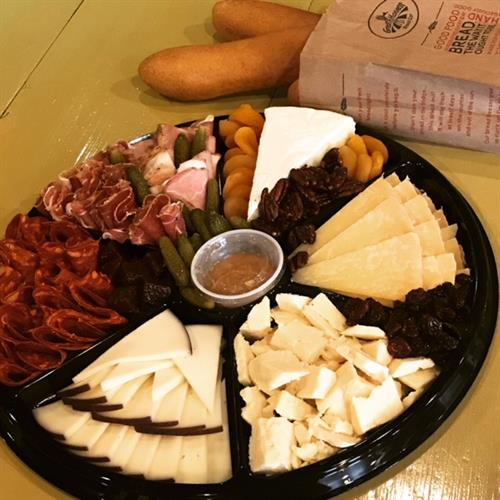 Cheese and Meat Catering Platter