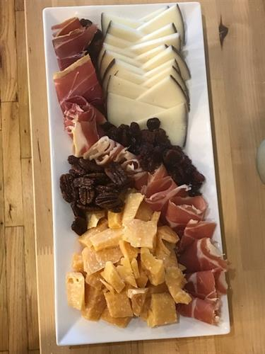 Custom cheese platter