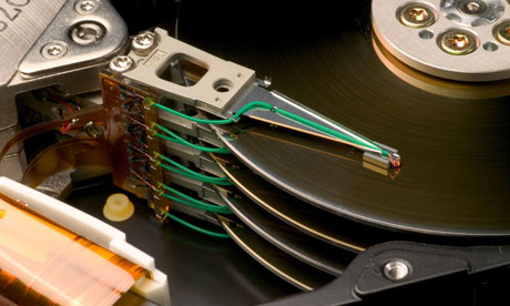 Electronics recycling and hard drive shredding