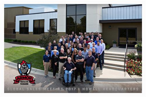 ARMOR Global Sales Team 2017