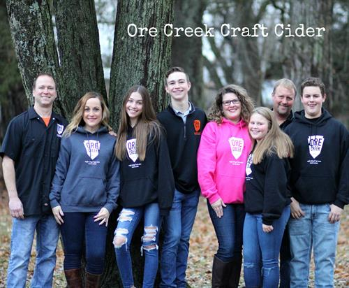 The founders of Ore Creek and their families.
