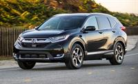 The all new 2017 Honda CRV