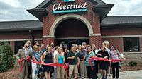 Ribbon Cutting at New Brighton MI Chestnut Real Estate Office