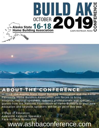 """ASHBA """"Build AK 2019"""" Conference"""