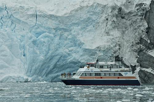 Phillips Cruises & Tours, Blackstone Bay, Whittier Alaska